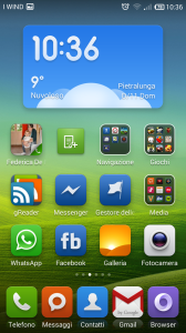 Widget Weather 2x4