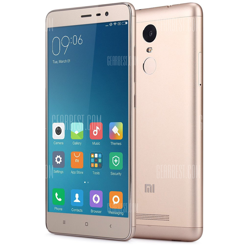Discount Code Xiaomi Redmi Notes 3 Pro Gold 32gb International With 20 Band To 155