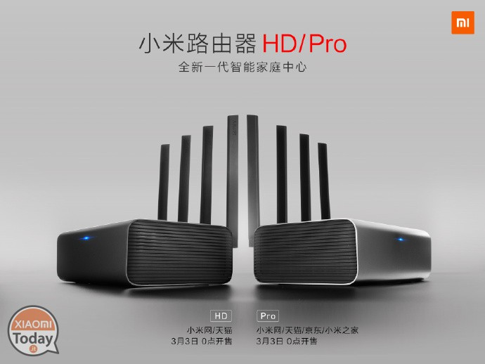 Preview of the Xiaomi Mi Router HD