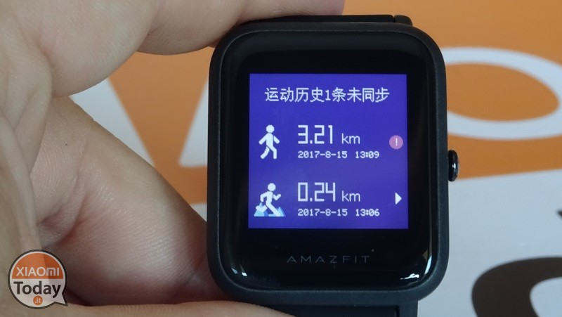 AmazFit-Beep-detail-historical activities-1