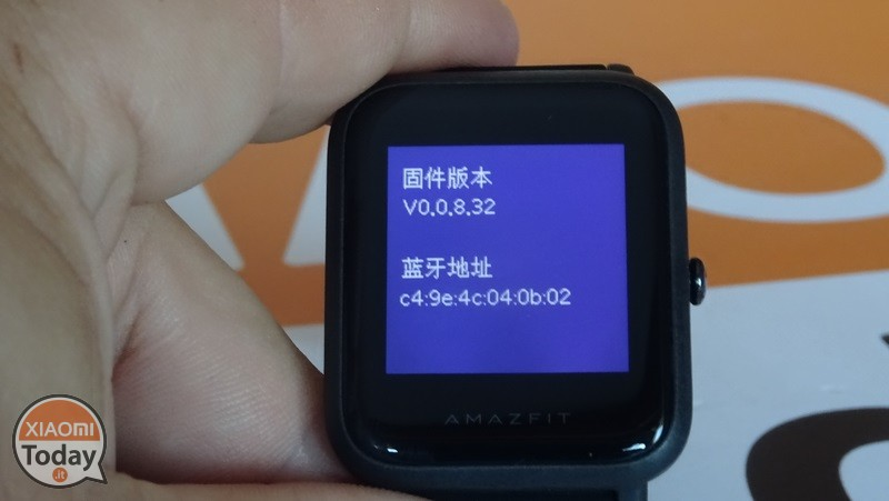 AmazFit-Beep-version-Firmware