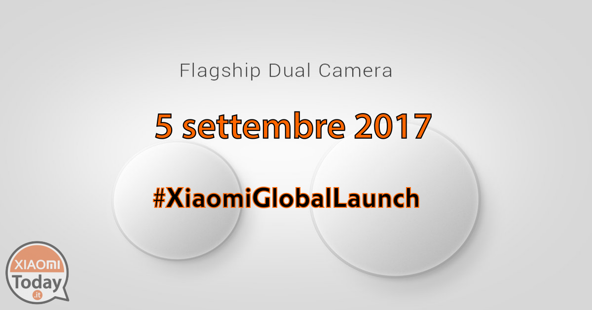 Xiaomi-global-launch-flagowy dwukomorowy-top-smartphone-World-5 września