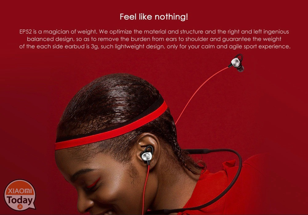 MEIZU EP52 Magnetic Neckband Stereo Bluetooth Headset