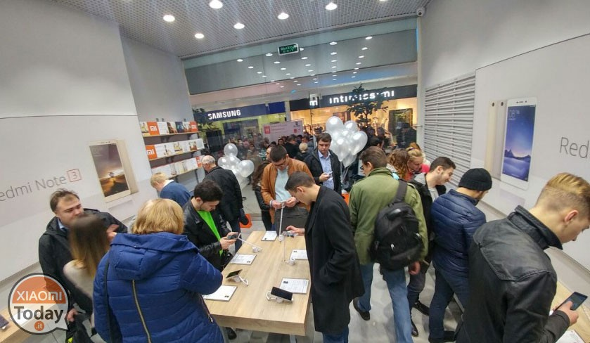 Xiaomi Mi Store ever more present in Europe: short in Italy?