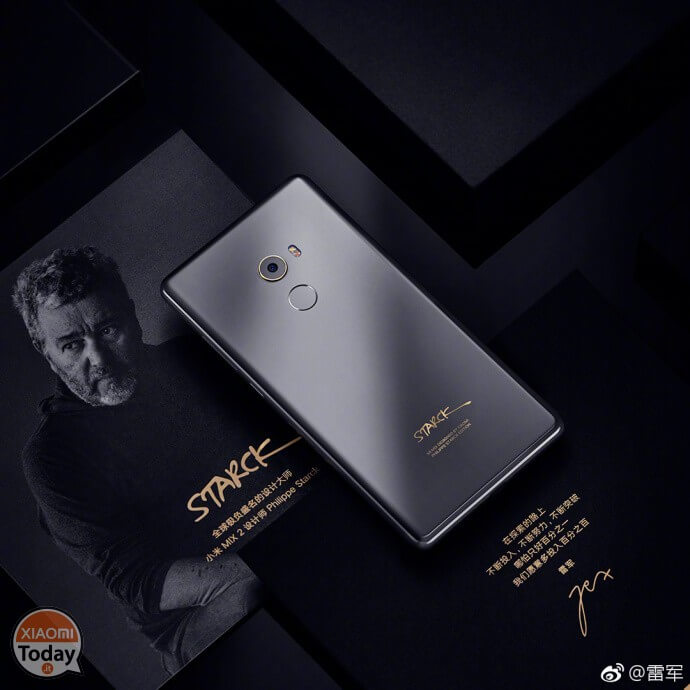 "Xiaomi Mi Mix 2: Incoming Ceramic Black ""Starck Edition"""