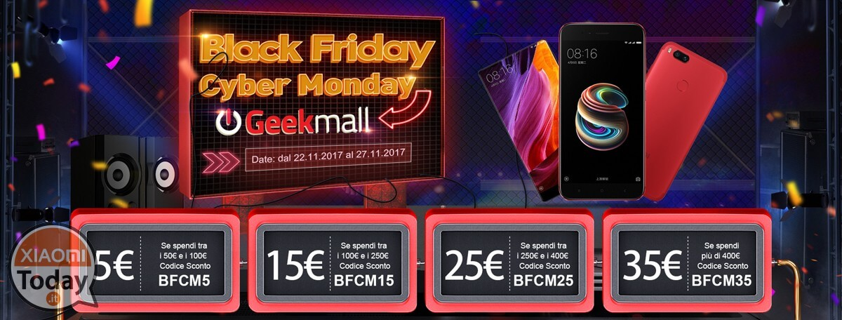 Black Friday coupon geekmall
