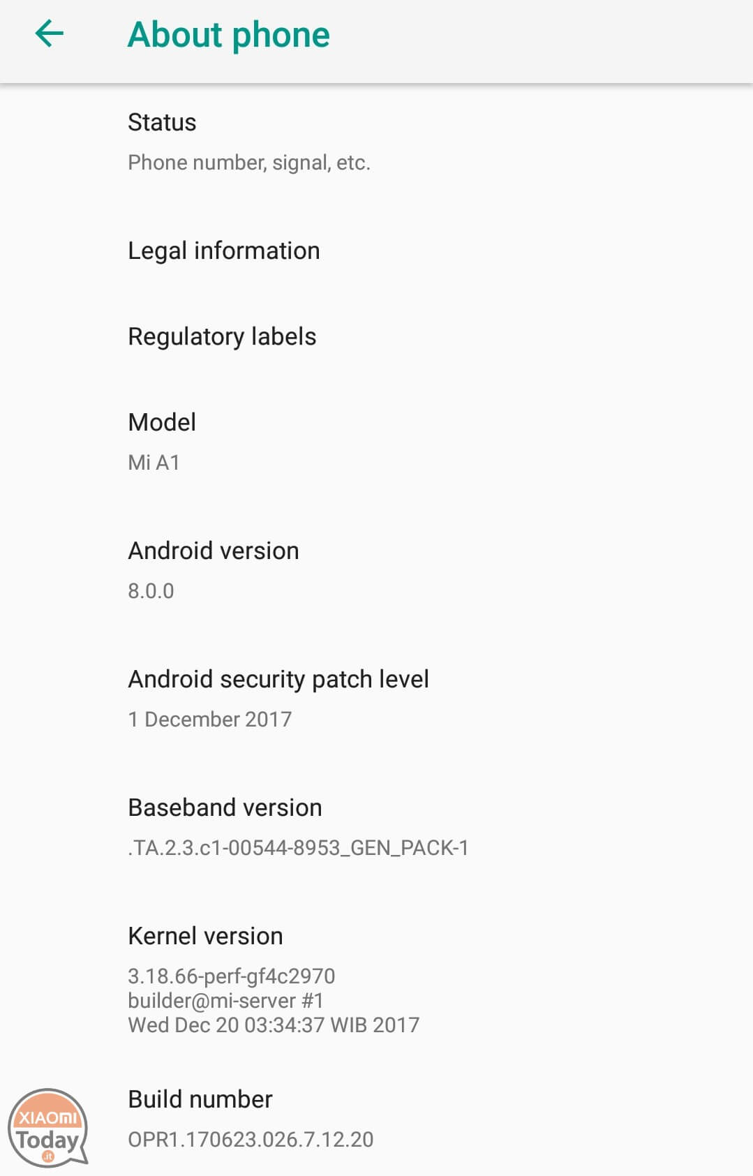 Guide: how to install Android Oreo beta on your Xiaomi Mi A1