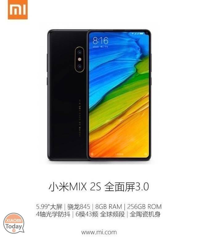 Xiaomi Mi Mix 2S: new rumors and first video hands on
