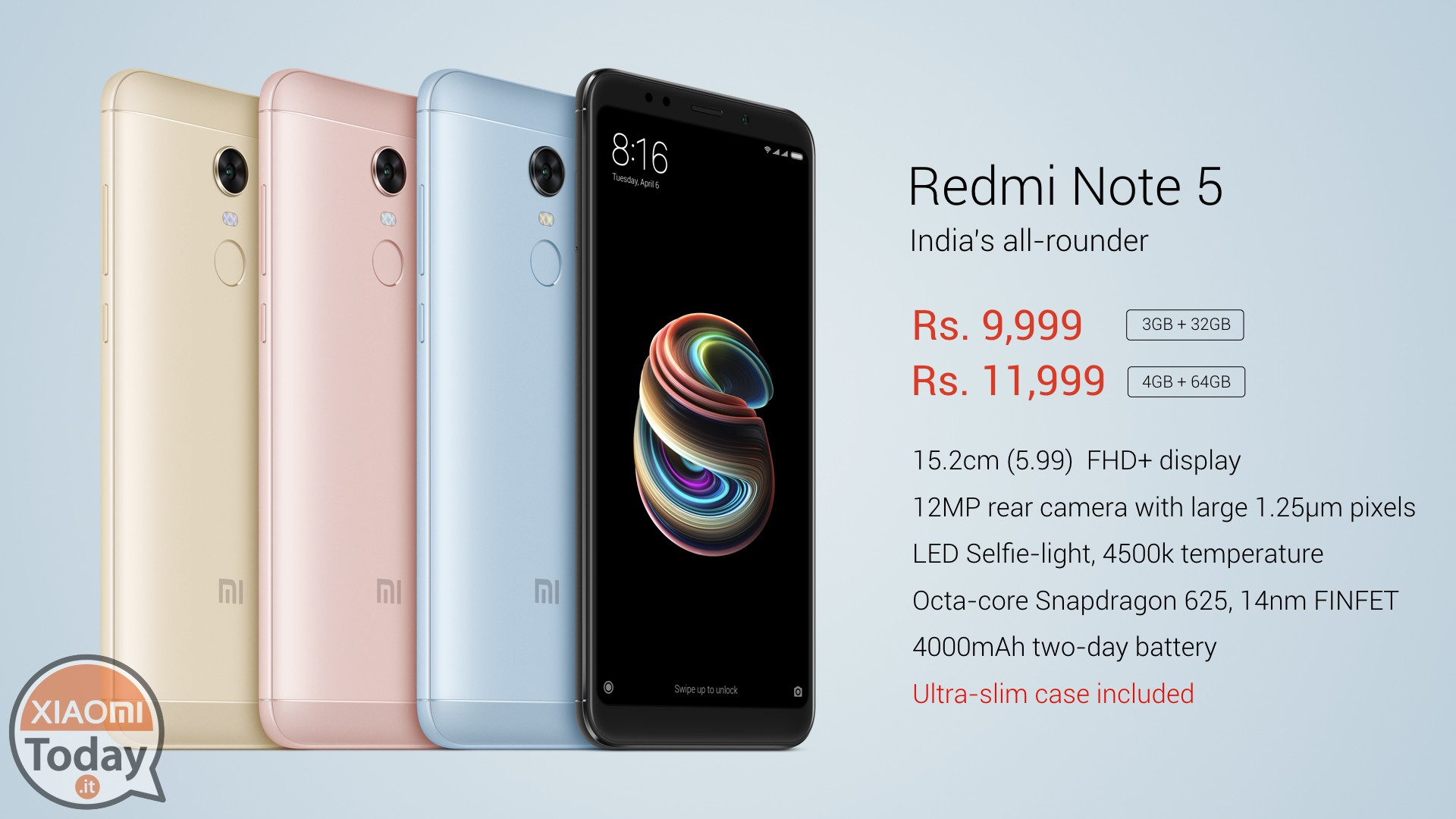 Live Event Presentation Xiaomi Redmi Notes 5 Note Pro Ram 6gb Rom 64gb New Original In Fact With Enormous Praise The Is Presented Becoming First Official Smartphone To Be Launched This 2018