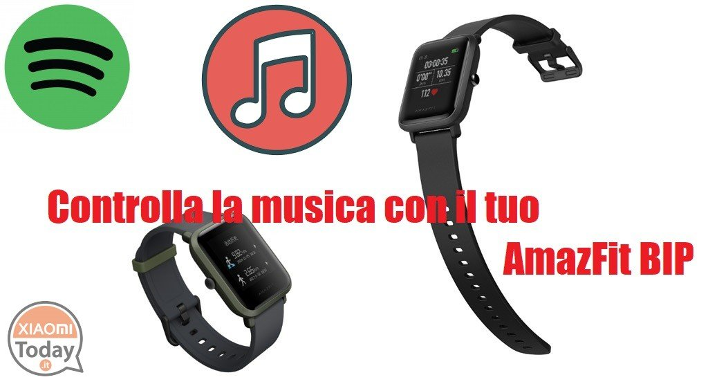Guide: how to control music with your AmazFit BIP