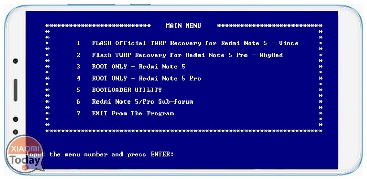 How to install TWRP & ROOT recovery on Xiaomi Redmi Note 5 / PRO