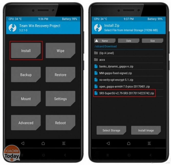 xiaomi redmi notities 5 pro twrp root