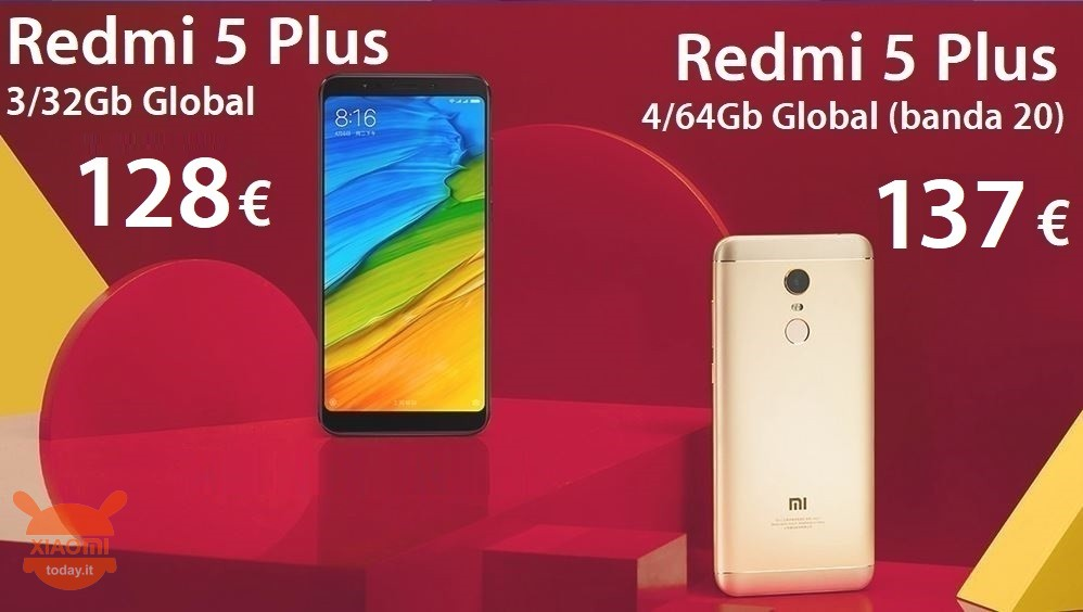 redmi 5 plus global 128 137 it