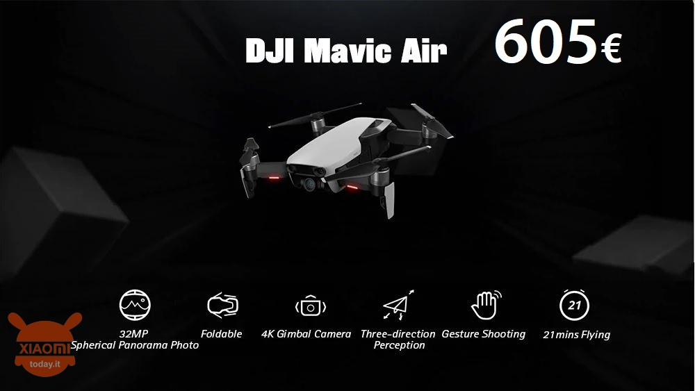 dji mavic air 605