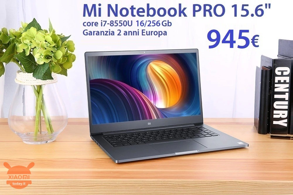 notebook pro i7 16gb 945 it