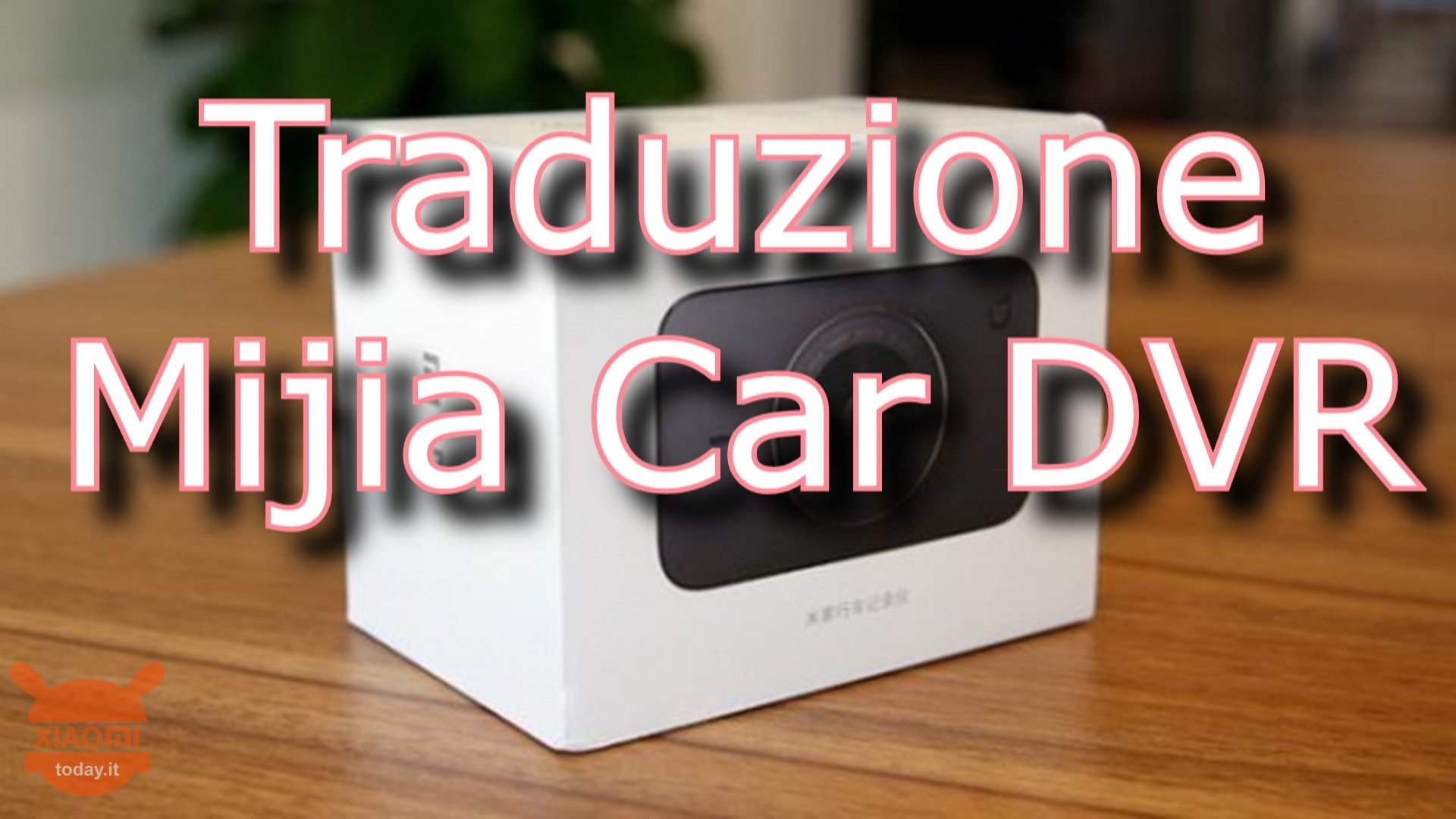 Mijia dvr do carro