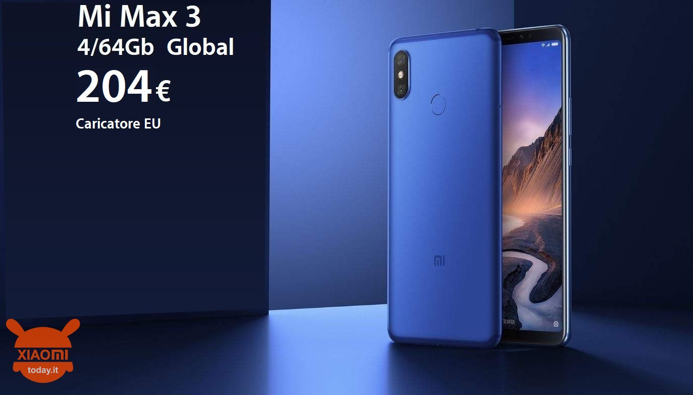 mi max 3 204 global caricatore eu