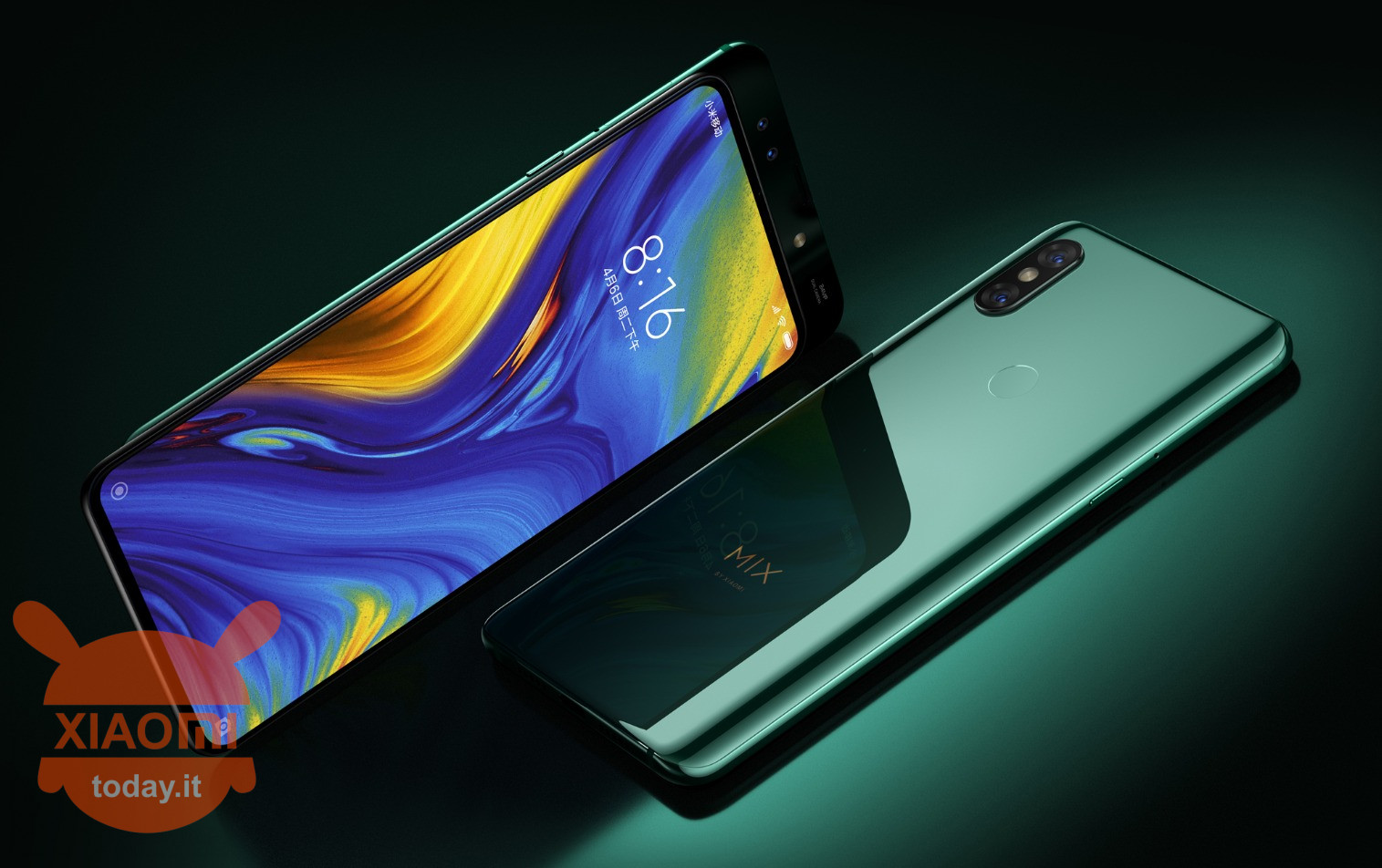 Xiaomi Mi MIX 3 Emerald Green