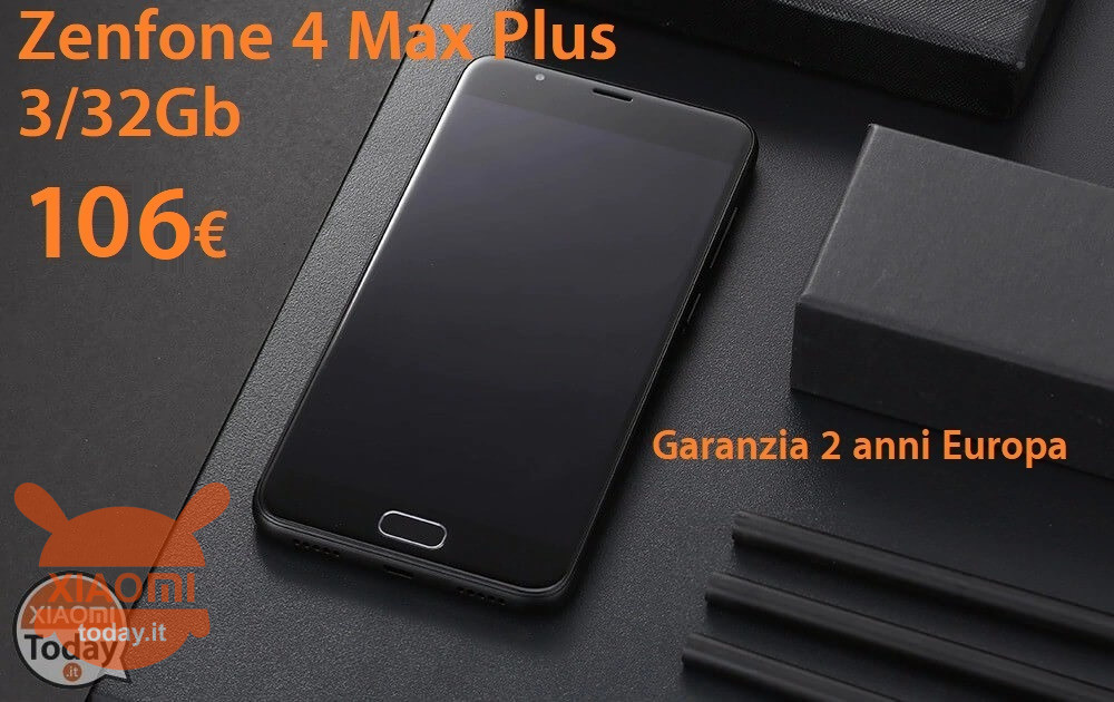 Zenfone 4 max plus 106it