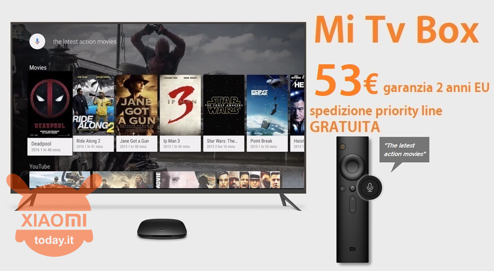 MI TV BOX 53 priority free it