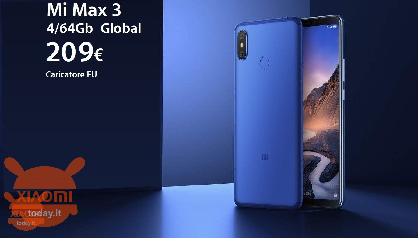 mi max 3 209 global caricatore eu