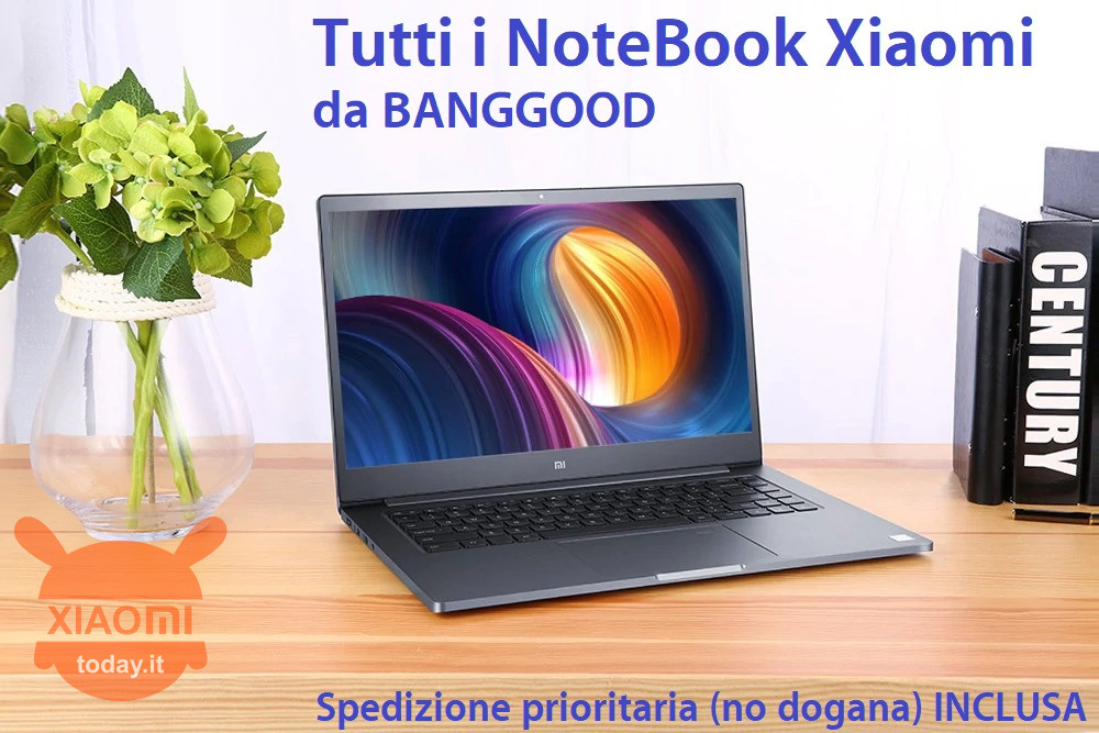 all xiaomi notebooks from banggood