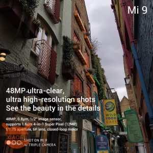 Xiaomi Mi 9 Appareil photo