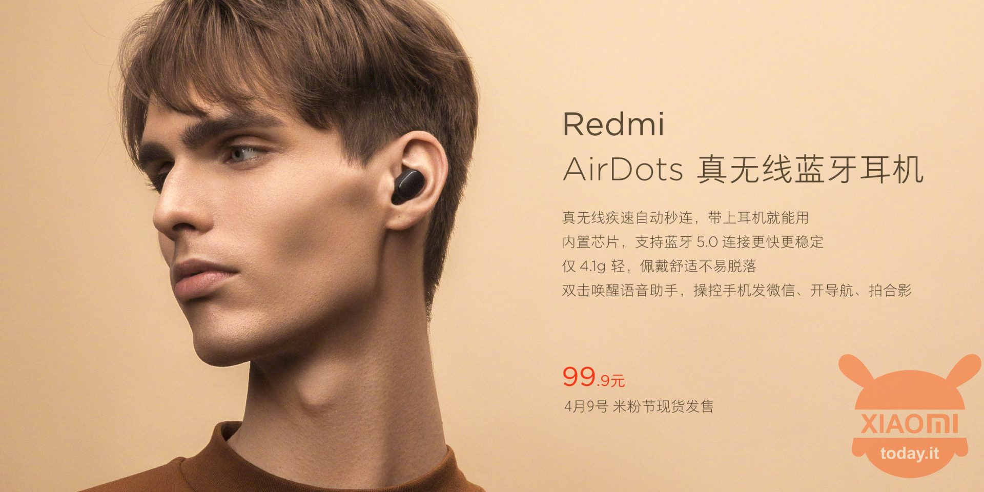 Headphone earphone Xiaomi Redmi AirDots TWS