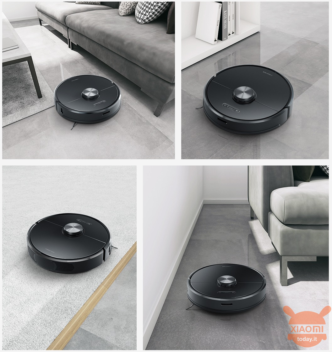 Xiaomi Roborock T6 is the new robot vacuum cleaner: improved