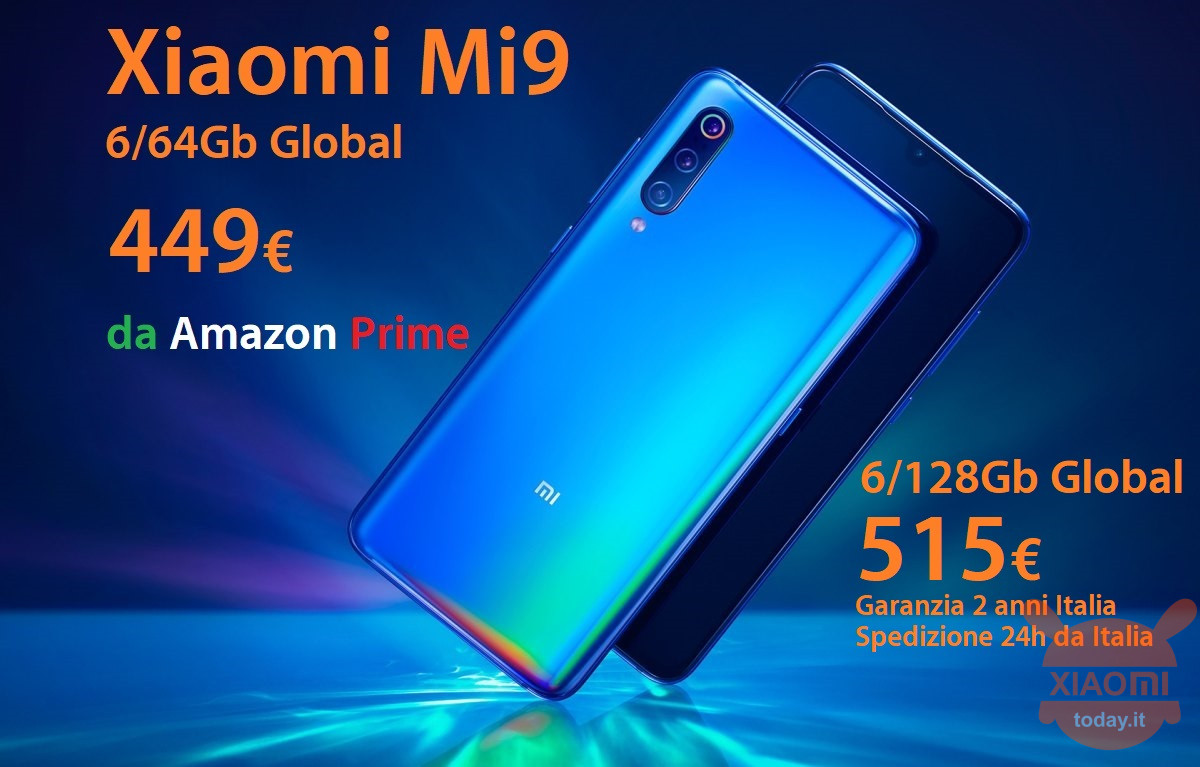 Mi9 64gb 449 amazon 515 grosso