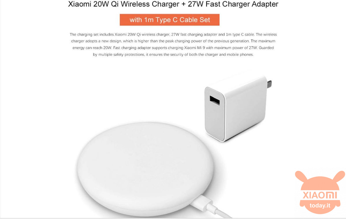 20w wireless charger + 27w ev