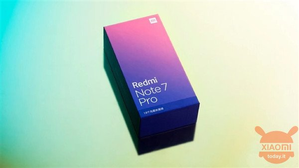 Redmi Notes 7 Pro box