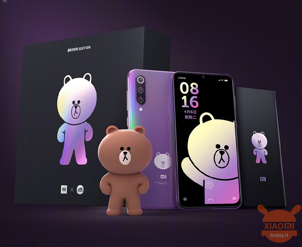 Xiaomi Mi 9 SE Brown Bear Super Super Super Brown Edition