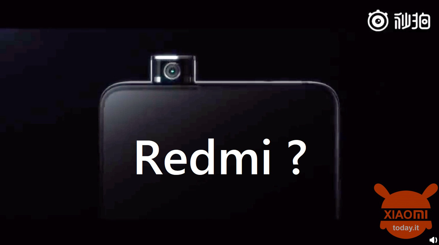 redmi vlaggenschip teaser pop-op camera