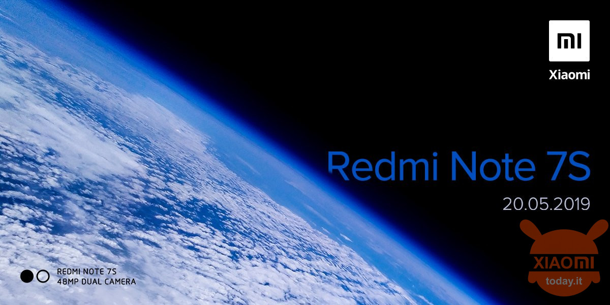 Redmi Note 7S India 48MP