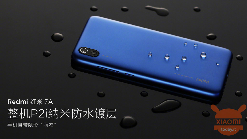 Redmi 7A P2i waterproof
