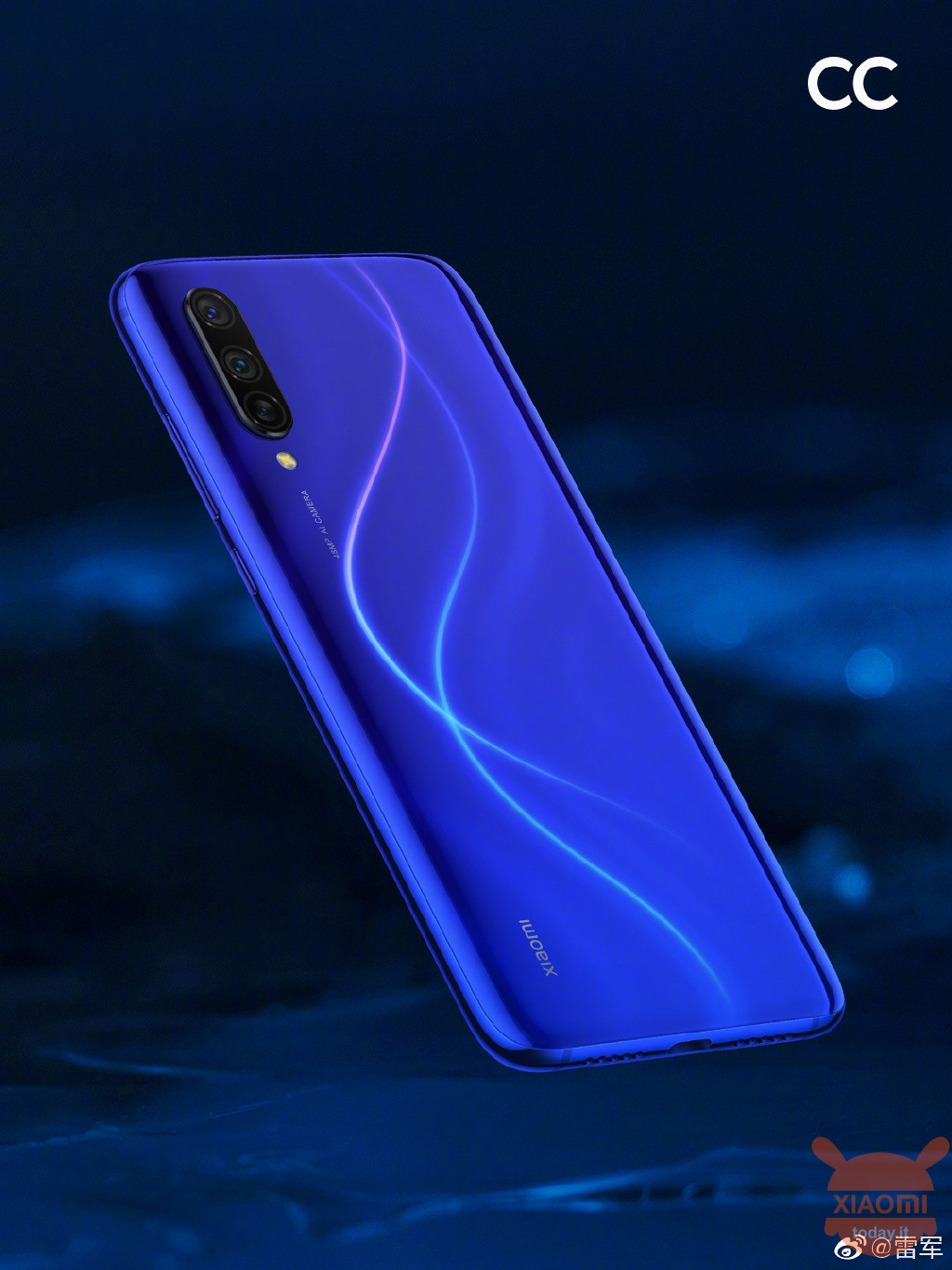 Xiaomi CC9 Dark Blue Planet Xiaomi Mi CC9