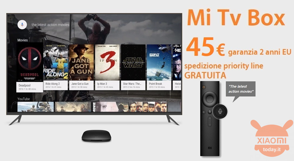 MI TV BOX 45 priority gratis it