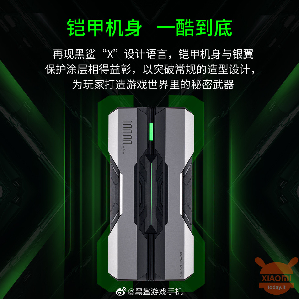 Xiaomi Black Shark Power Bank 10000mAh