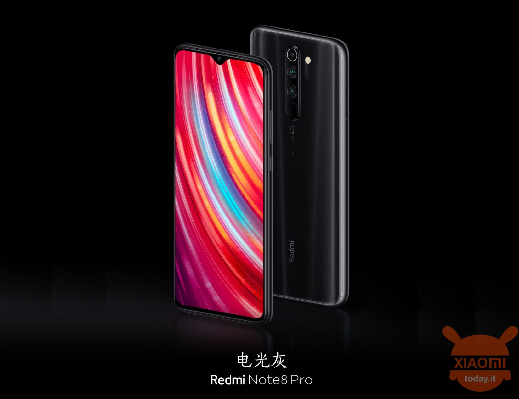 Redmi Note 8 Pro presented with 64MP sensor and 6,53 display