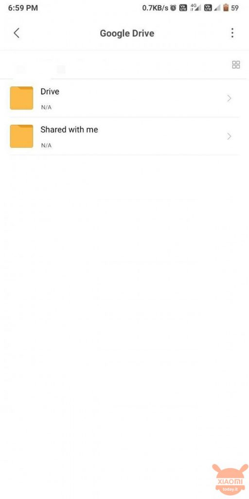 Mi File Manager has integrated Google Drive: everything you need in the cloud