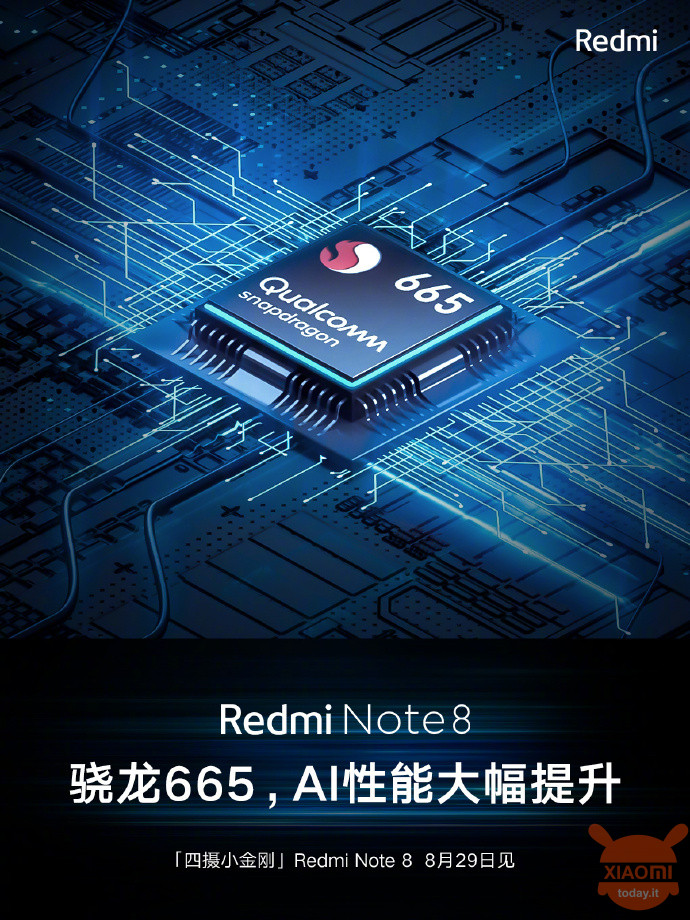 redmi note 8 processore snapdragon