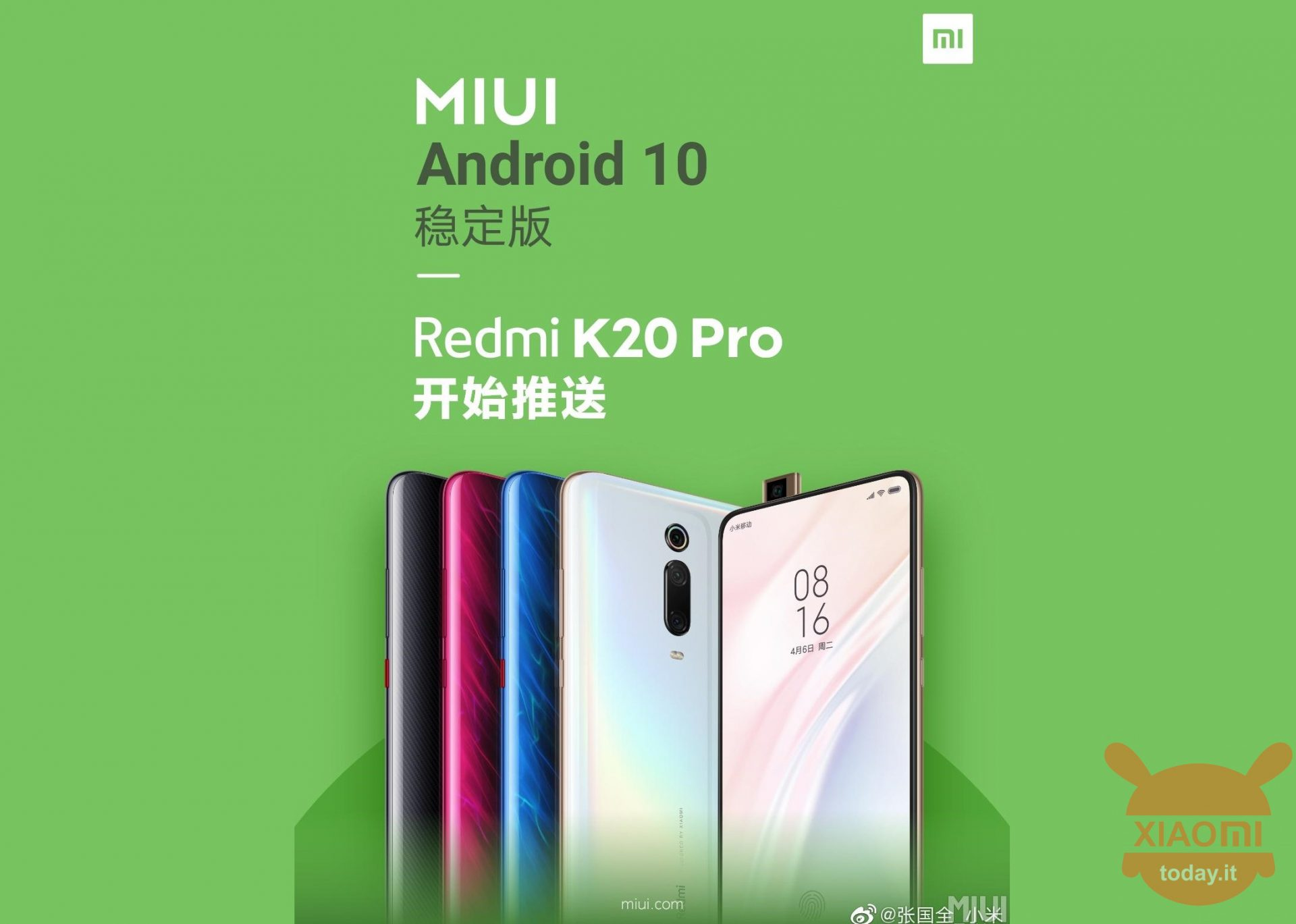 Redmi K20 Pro Android 10 Stable