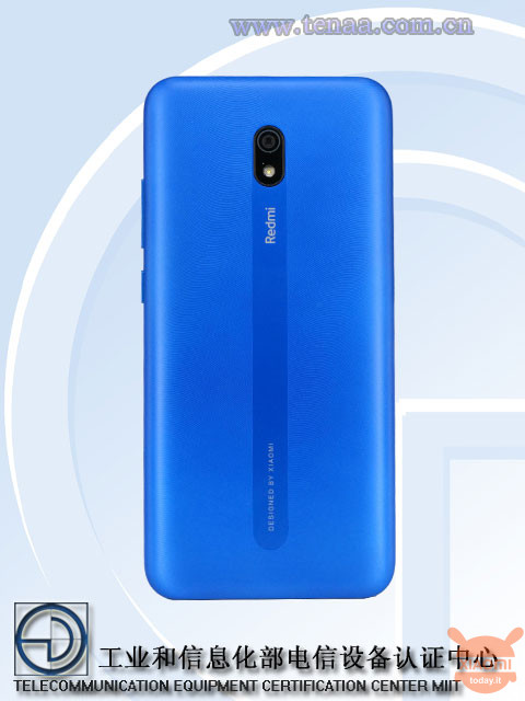 Redmi 8A certificado en China