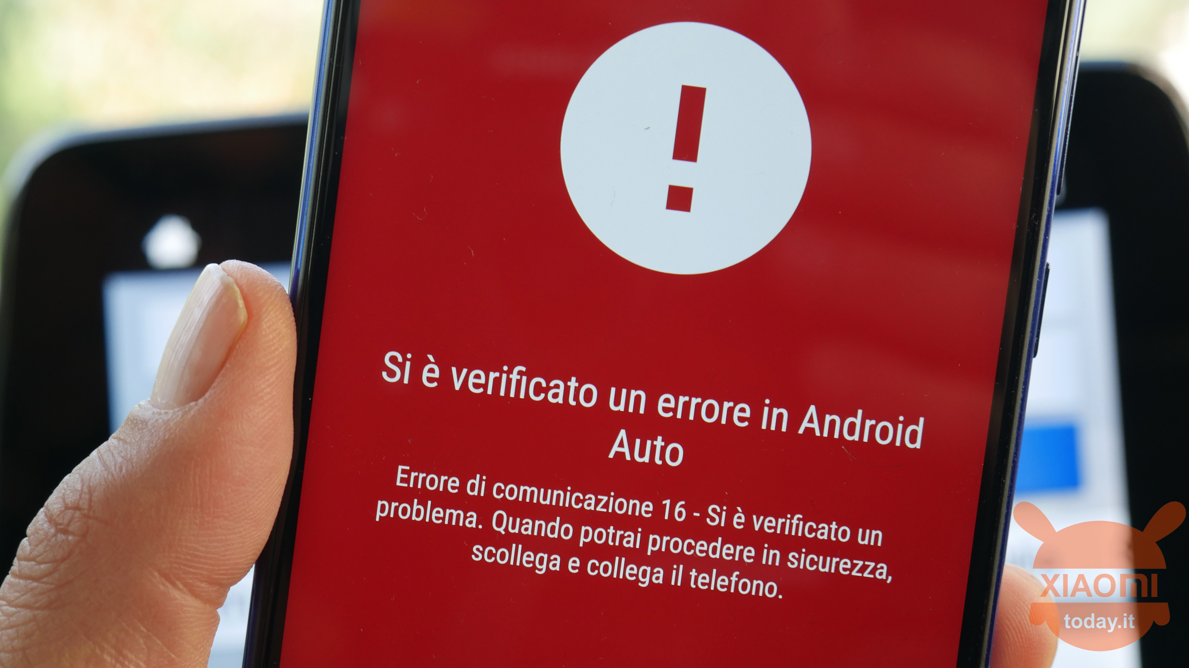 Solve the 16 communication error of Android Auto with Xiaomi