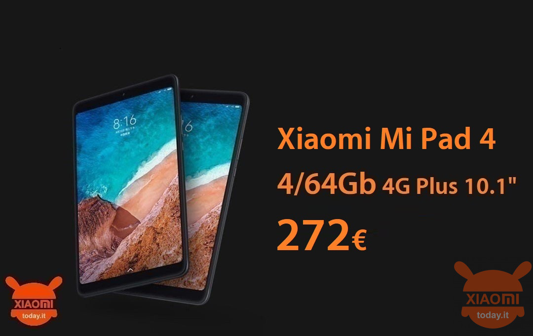 mi-pad-4 plus 64gb lte 272