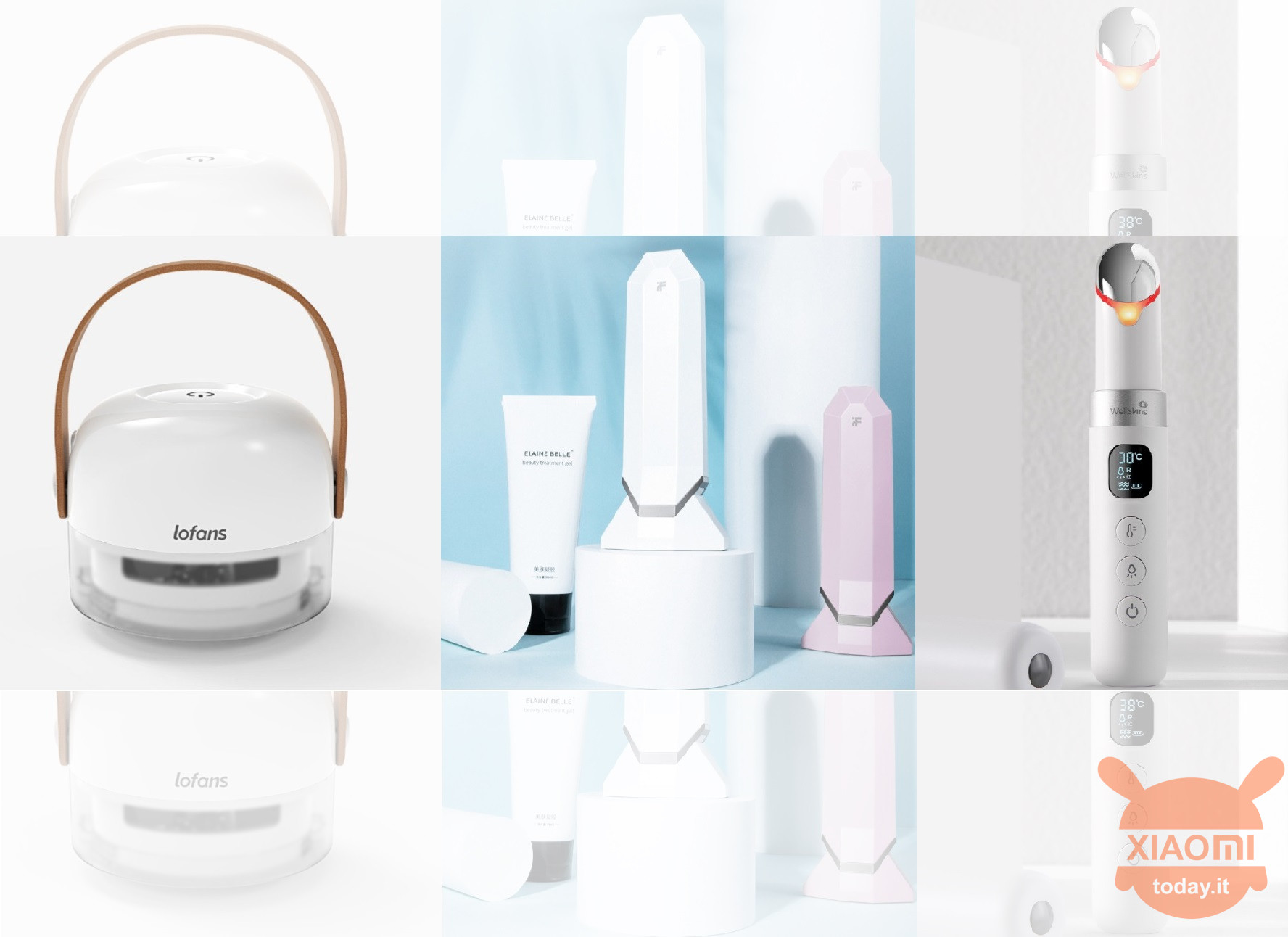 Three new Xiaomi gadgets for crowdfunding beauty