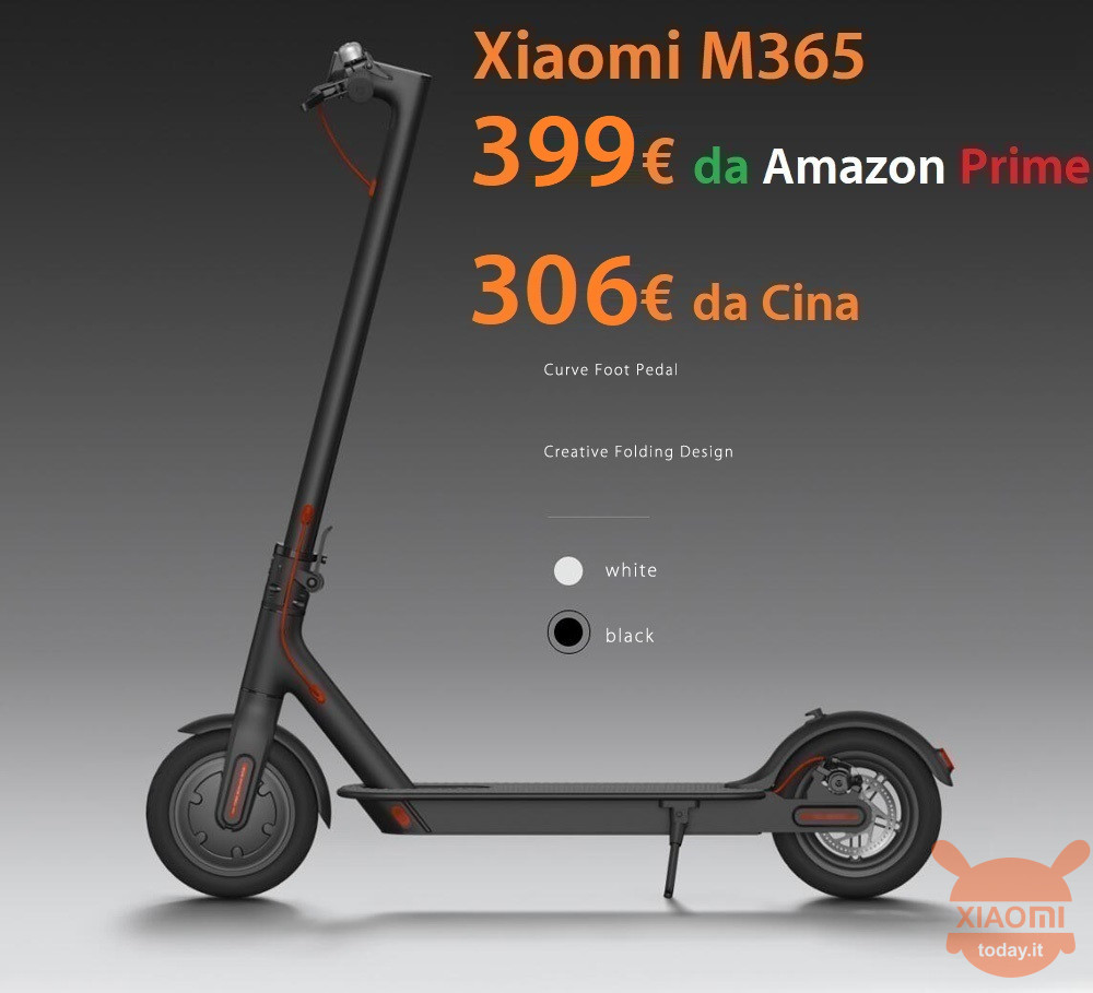 SCOOTER M365 M365 399 amazon 306 din China