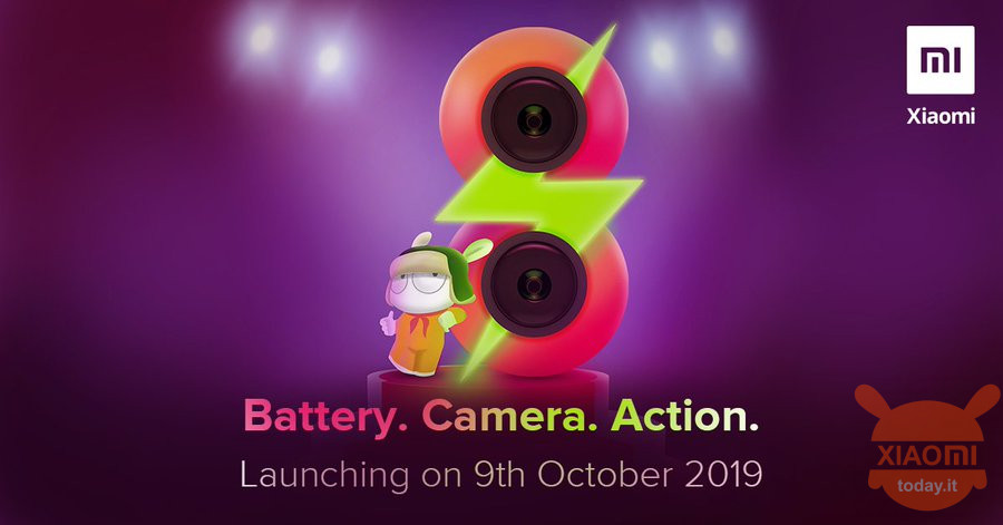 redmi 8 launch