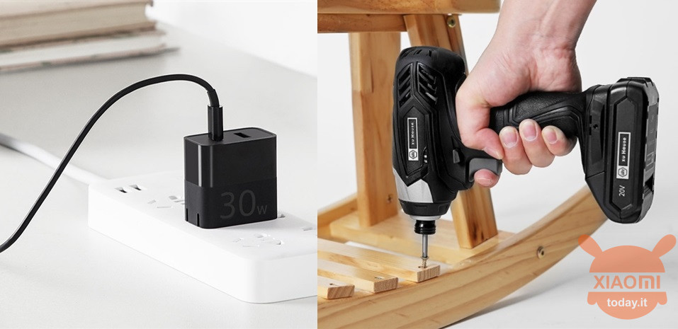 ZMI Dual Fast Charger charger 30W Wiha 20V Wireless Electric Screwdriver